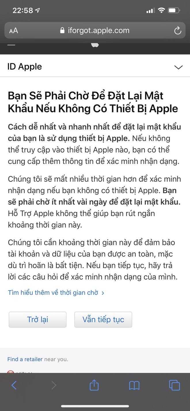 Đầu óc lú lẫn hay quên mật khẩu Apple ID, lưu ngay bí kíp lấy lại chỉ trong một nốt nhạc - ảnh 9