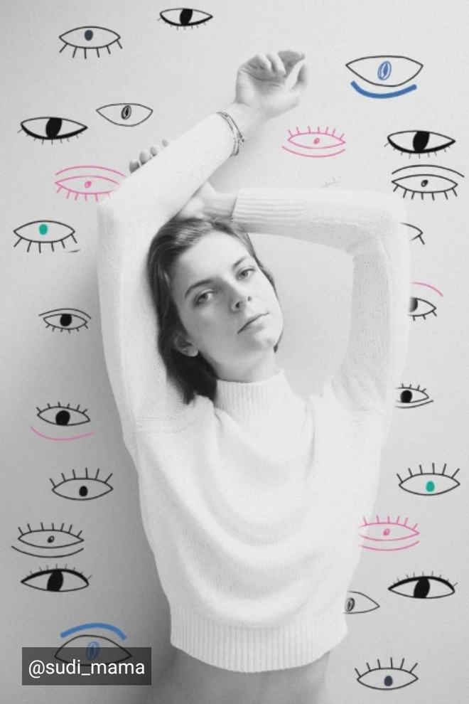 Lạ lẫm với thử thách Doodle Eyes của PicArt, toàn mắt là mắt nhưng cuốn hút lạ kỳ - ảnh 5