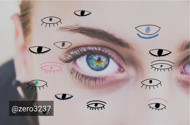 Lạ lẫm với thử thách Doodle Eyes của PicArt, toàn mắt là mắt nhưng cuốn hút lạ kỳ - ảnh 7