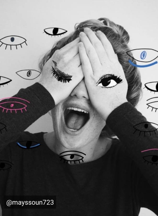 Lạ lẫm với thử thách Doodle Eyes của PicArt, toàn mắt là mắt nhưng cuốn hút lạ kỳ - ảnh 9