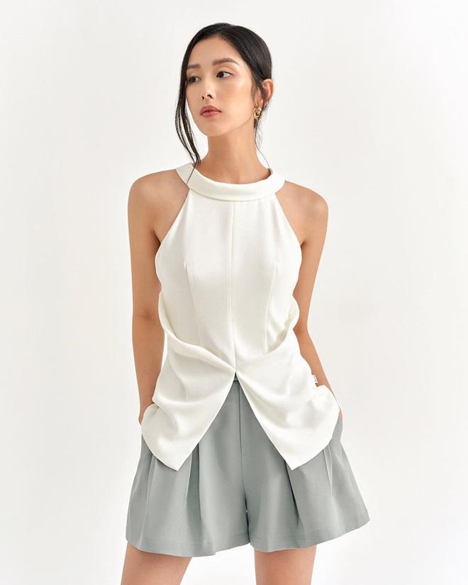 Hè đến là áo yếm lại hot quá trời quá đất và đây là những mẫu xinh xẻo nhất tại các shop mà chẳng nàng nào có thể làm ngơ - ảnh 10