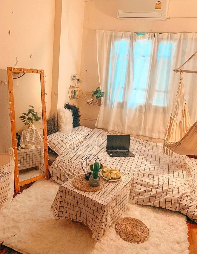 Cây - gương - tường - đèn: Công thức biến không gian cũ kỹ thành căn phòng xinh xắn, hội nghiện decor áp dụng triệt để - Ảnh 3.