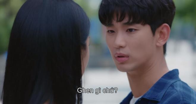 Kim Soo Hyun ghen nổ đom đóm mắt ở Điên Thì Có Sao nhưng lý do lại giống với đại úy Hyun Bin thế nhỉ? - ảnh 7