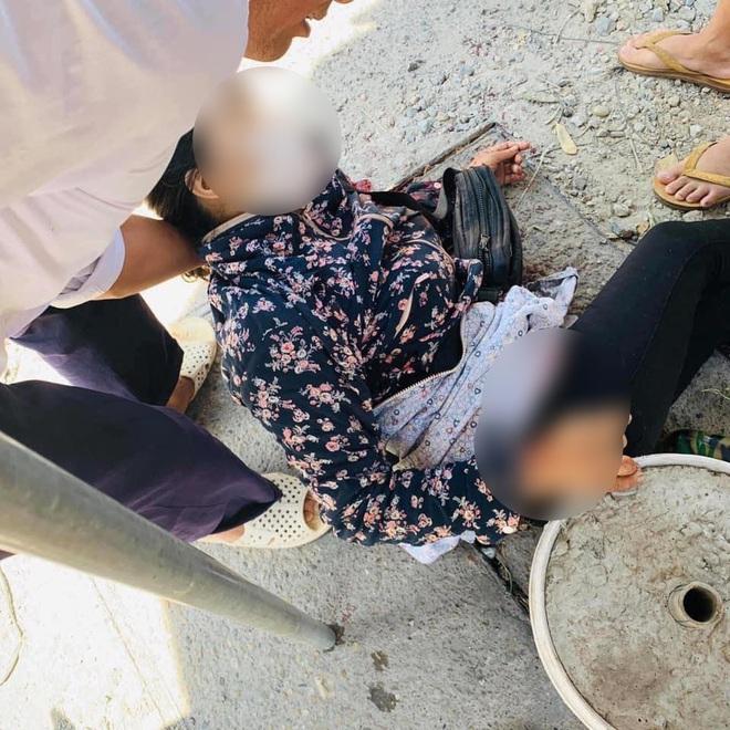 Hà Nội: Người phụ nữ bán hoa quả bất ngờ bị đâm nguy kịch - ảnh 1