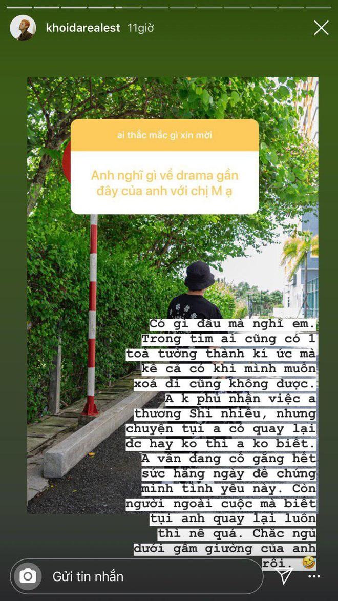 Rapper Khói follow duy nhất Mây: Con đường tình yêu trên Instagram dạo này nhộn nhịp quá! - ảnh 3