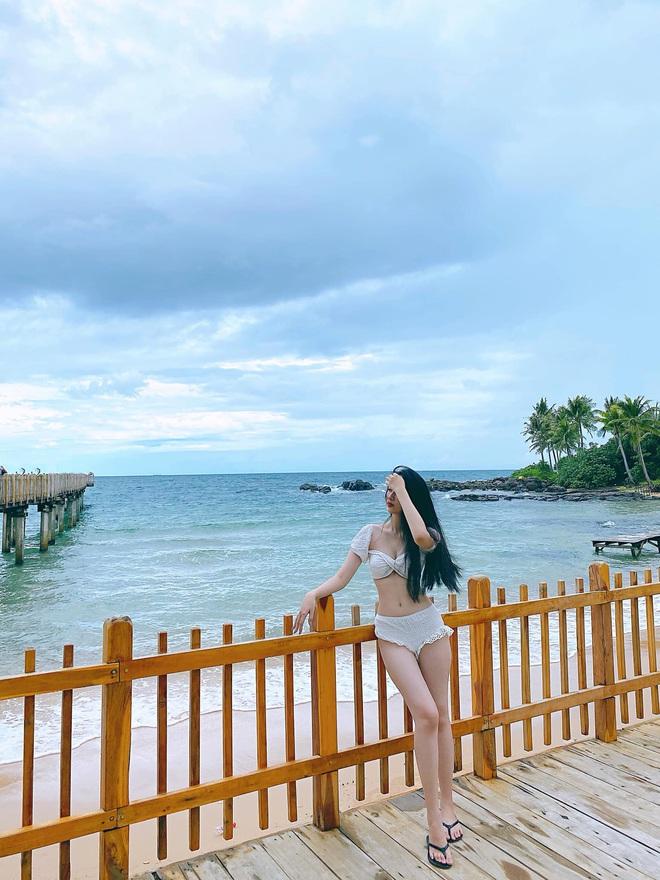 Dàn thí sinh Hoa Hậu Việt Nam đọ sắc với bikini: Ai cũng chân dài thẳng tắp, body nóng bỏng hay mảnh mai đều cân hết - ảnh 12