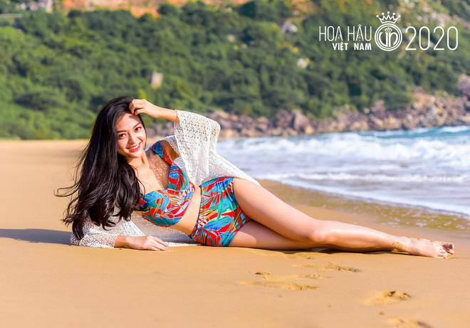 Dàn thí sinh Hoa Hậu Việt Nam đọ sắc với bikini: Ai cũng chân dài thẳng tắp, body nóng bỏng hay mảnh mai đều cân hết - ảnh 13
