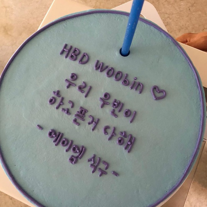 Tiệc sinh nhật Kim Woo Bin: Để mặt mộc, chẳng lên đồ vẫn bảnh, đón ngày vui ở mái nhà chung với Shin Min Ah - ảnh 5