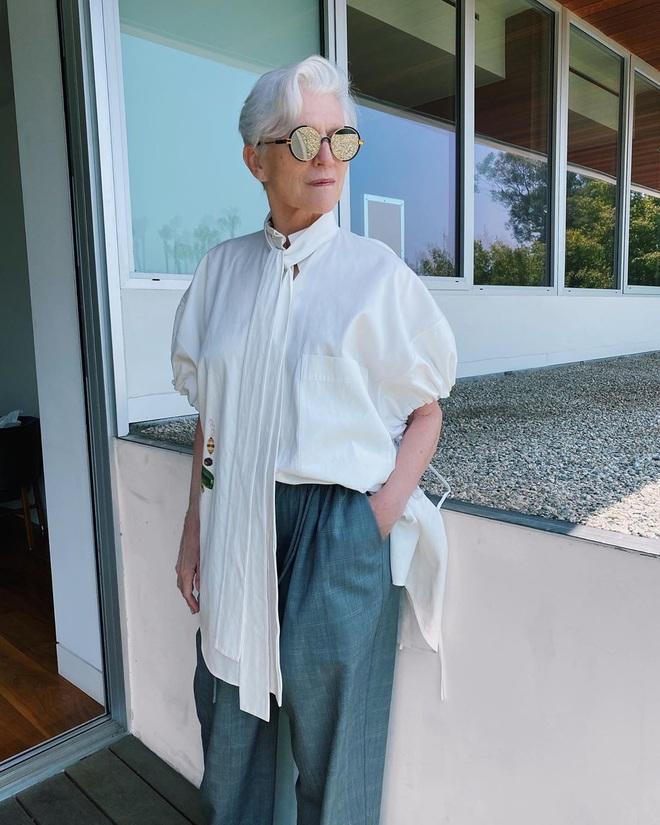 Cụ bà 72 tuổi chia sẻ 3 bước skincare quan trọng nhất cuộc đời: Mới 15 tuổi, tôi đã biết chống nắng từ đầu tới chân - ảnh 11