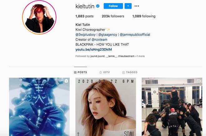 Biên đạo nhảy của BLACKPINK bất ngờ bấm theo dõi instagram của ca sĩ Việt, sắp sửa hợp tác trong MV mới? - ảnh 2