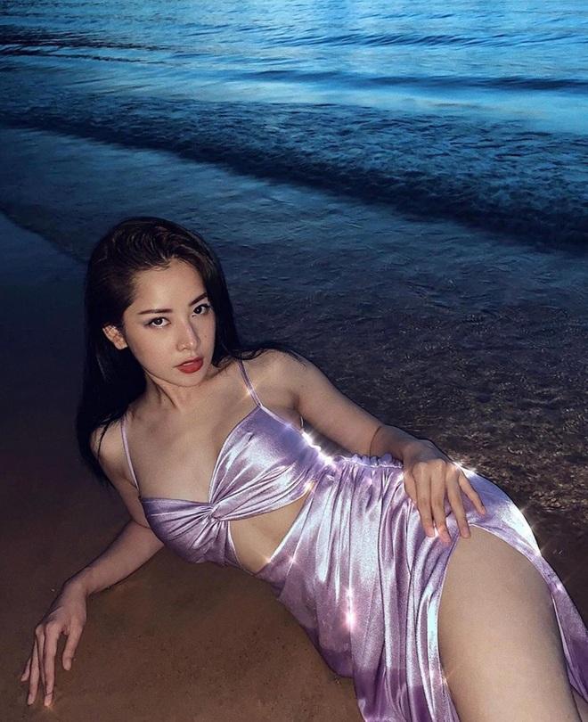 """Kệ ồn ào chị chị em em, Chi Pu tung loạt ảnh """"ngả ngốn"""" nóng hổi giữa biển: Body và thần thái thế này thì mê quá! - ảnh 1"""