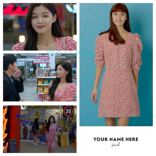Vào vai cô nhân viên cửa hàng tiện lợi, mỹ nhân Kim Yoo Jung diện đồ hết sức bình dân, có nhiều món giá chỉ loanh quanh 500k - ảnh 9