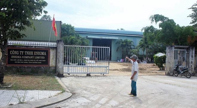 Quảng Nam: Nổ thùng hóa chất bốc mùi hôi khiến 2 người nhập viện - ảnh 5