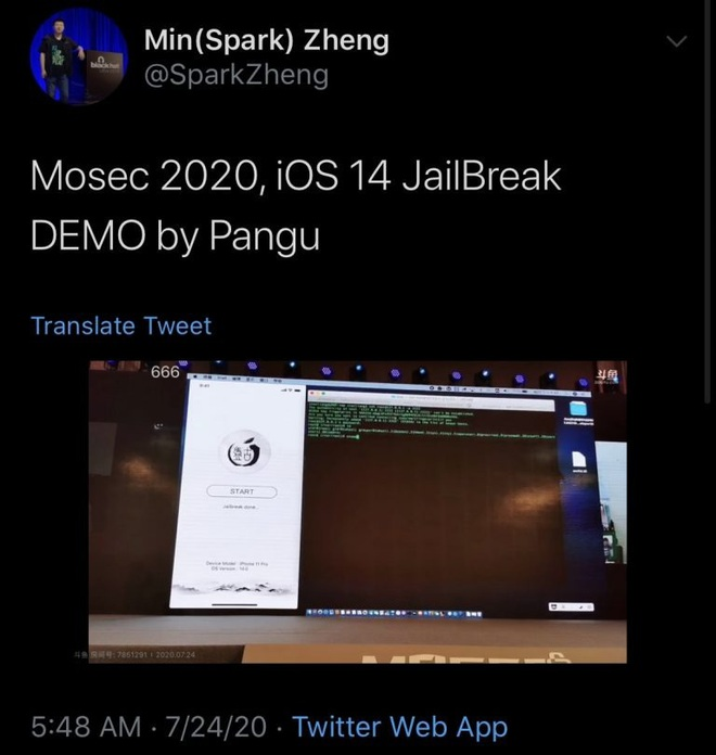 Nhóm hacker nổi tiếng nhẹ nhàng vượt rào iOS 14 - ảnh 2