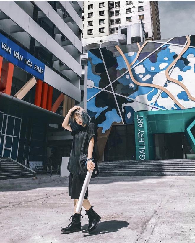 Sơn đủ 7 sắc cầu vồng xanh, đỏ, cam, vàng..., Đại học Kiến trúc Hà Nội xứng danh ngôi trường màu mè nhất Việt Nam! - ảnh 16