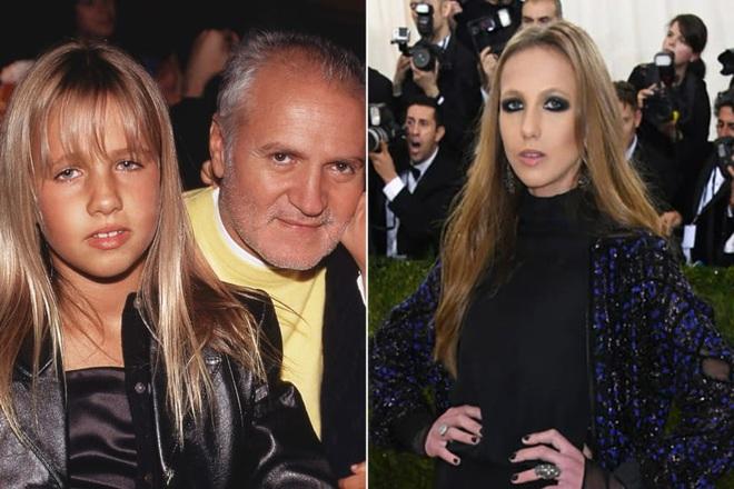 Cuộc sống như địa ngục của Ái nữ đế chế Versace: Thừa kế công ty khi mới 11 tuổi, tài sản hàng trăm triệu đô nhưng không có lấy một ngày vui vẻ - ảnh 4