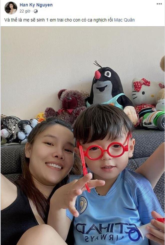 Mạc Hồng Quân và Kỳ Hân hạnh phúc tiết lộ sắp đón bé trai, dự định sinh con ở CH Czech xong mới về Việt Nam - ảnh 2