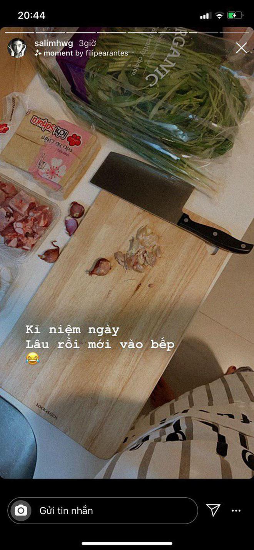 Chi Pu với SunHt dính như sam, Quỳnh Anh Shyn và Salim cũng vừa chị chị em em nấu nướng: Hội 4 người thực sự chia 2 ngả? - ảnh 7