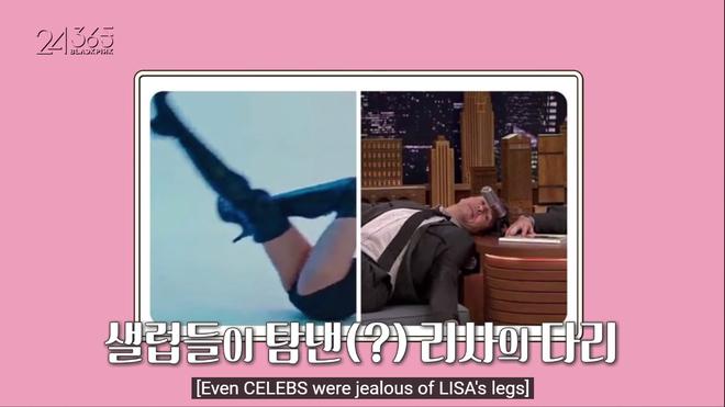 Lisa lại gây sốt với khoảnh khắc giãn cơ khoe chân dài miên man trên show riêng của BLACKPINK - ảnh 10