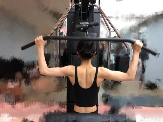 Bất ngờ với cách giữ dáng của 4 sao Hoa ngữ đình đám: Tần Lam hóp bụng liên tục, Triệu Lệ Dĩnh tập gym lên cả cơ bắp - ảnh 4