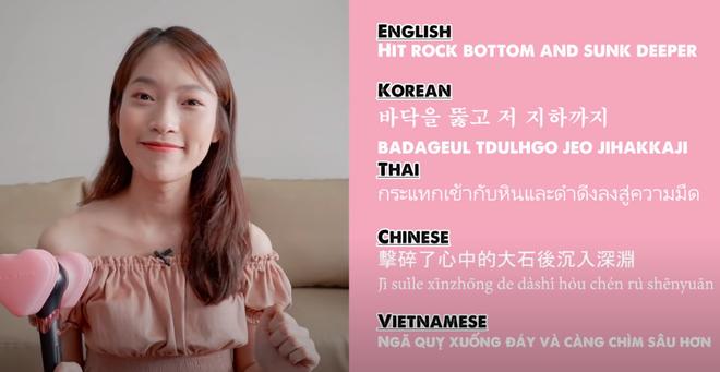 Khánh Vy lại khiến dân tình mắt tròn mắt dẹt khi dịch How You Like That (BLACKPINK) ra 5 thứ tiếng - ảnh 2