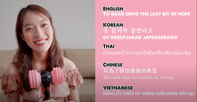 Khánh Vy lại khiến dân tình mắt tròn mắt dẹt khi dịch How You Like That (BLACKPINK) ra 5 thứ tiếng - ảnh 3