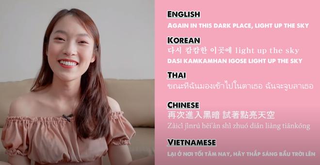 Khánh Vy lại khiến dân tình mắt tròn mắt dẹt khi dịch How You Like That (BLACKPINK) ra 5 thứ tiếng - ảnh 4