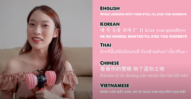Khánh Vy lại khiến dân tình mắt tròn mắt dẹt khi dịch How You Like That (BLACKPINK) ra 5 thứ tiếng - ảnh 5