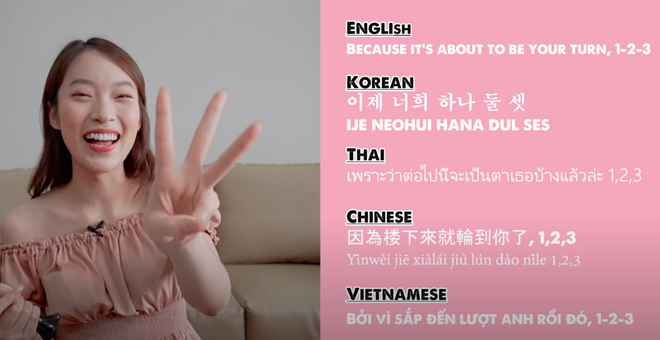 Khánh Vy lại khiến dân tình mắt tròn mắt dẹt khi dịch How You Like That (BLACKPINK) ra 5 thứ tiếng - ảnh 7