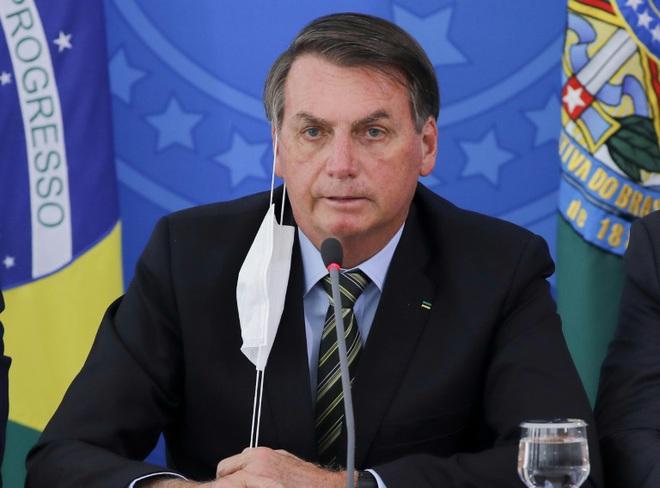 Tổng thống Brazil mắc COVID-19 - ảnh 1