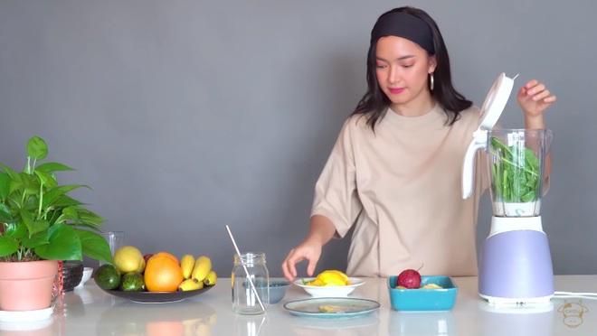 Châu Bùi thị phạm 3 món sinh tố rau xanh thay bữa chính mà vẫn đủ dưỡng chất, Binz hẹn hò với Châu thì kiểu gì cũng lây lối sống healthy này - ảnh 4