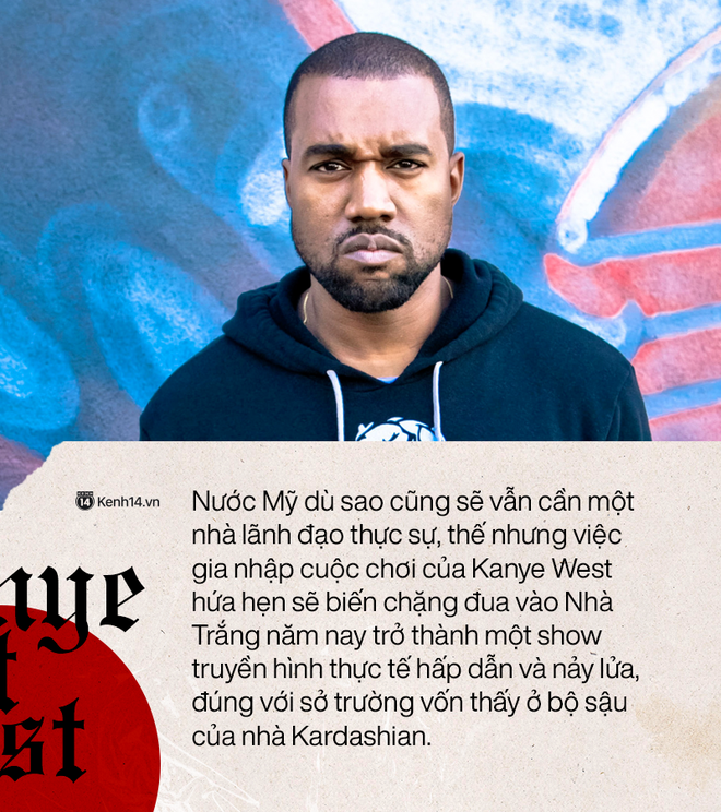 """""""Kẻ thất bại vĩ đại"""": Kanye West tranh cử Tổng thống và chiến lược thất bại công phu - ảnh 6"""
