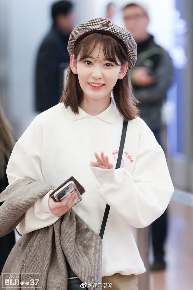 Lột xác từ style Nhật thắm thơm sang style Hàn cá tính, Sakura (IZ*ONE) khiến netizen phải trầm trồ không ngớt - ảnh 14