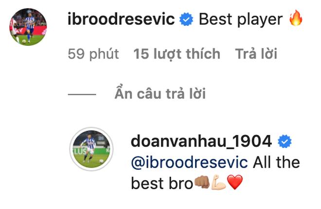 Đồng đội tại Heerenveen tạm biệt Văn Hậu, khen hậu vệ Việt Nam là cầu thủ hay nhất - ảnh 1