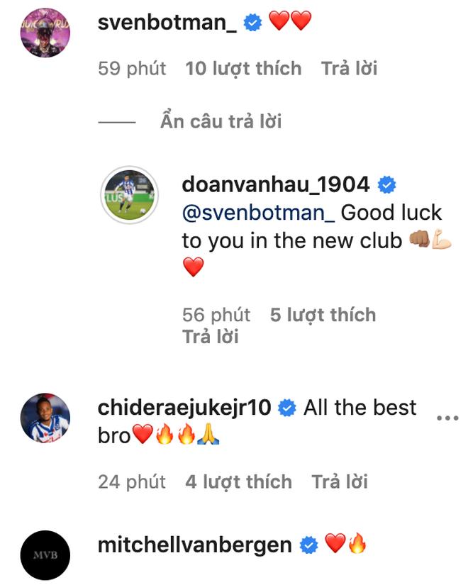 Đồng đội tại Heerenveen tạm biệt Văn Hậu, khen hậu vệ Việt Nam là cầu thủ hay nhất - ảnh 2