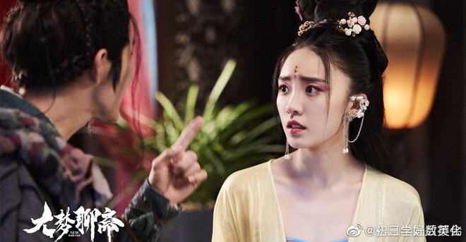 Vừa thoát kiếp trà xanh ở 30 Chưa Phải Là Hết, tiểu tam Lâm Hữu Hữu đã lộ cốt hồ ly tinh ở phim liêu trai - ảnh 2
