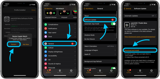 Hướng dẫn cập nhật phiên bản watchOS 7 Public beta mới nhất cho Apple Watch - ảnh 8