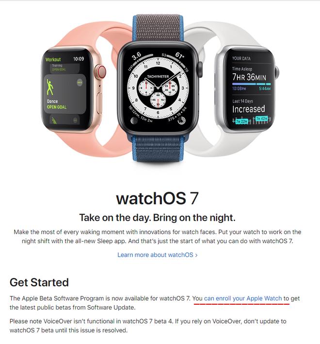 Hướng dẫn cập nhật phiên bản watchOS 7 Public beta mới nhất cho Apple Watch - ảnh 6