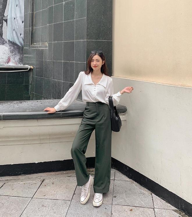 4 công thức diện áo blouse dài tay đơn giản mà đẹp mê, bạn cứ áp dụng là xinh như tiểu thư - ảnh 9