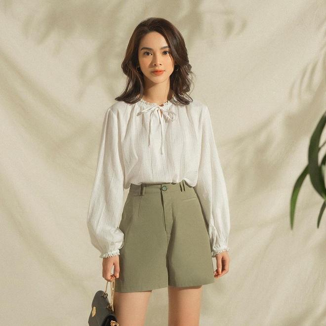 4 công thức diện áo blouse dài tay đơn giản mà đẹp mê, bạn cứ áp dụng là xinh như tiểu thư - ảnh 2
