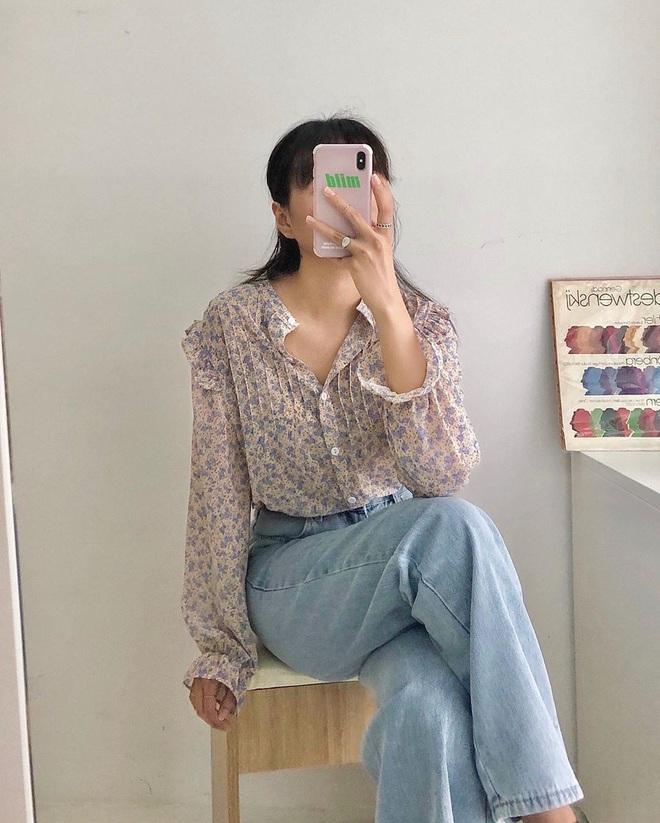 4 công thức diện áo blouse dài tay đơn giản mà đẹp mê, bạn cứ áp dụng là xinh như tiểu thư - ảnh 3