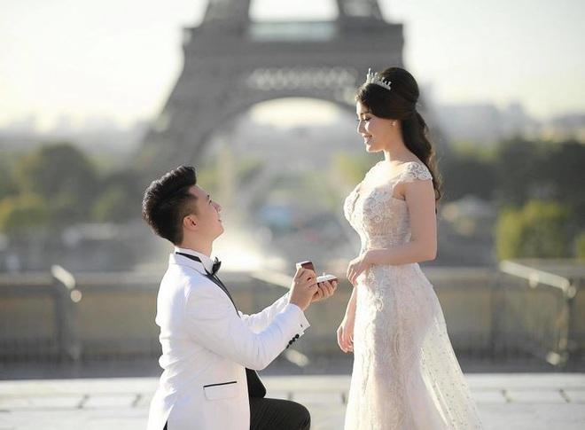 Ảnh cưới của Âu Hà My bất ngờ được chia sẻ rầm rộ vì concept giống nhà... Huỳnh Hiểu Minh - Angela Baby - ảnh 1