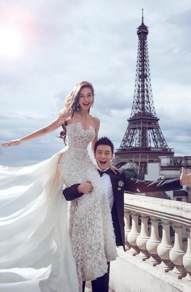 Ảnh cưới của Âu Hà My bất ngờ được chia sẻ rầm rộ vì concept giống nhà... Huỳnh Hiểu Minh - Angela Baby - ảnh 3
