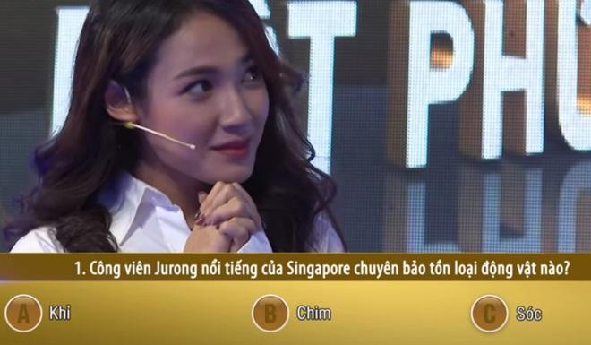 Bất ngờ về sự nhanh trí, thông minh của Cara Phương trên show truyền hình - ảnh 2