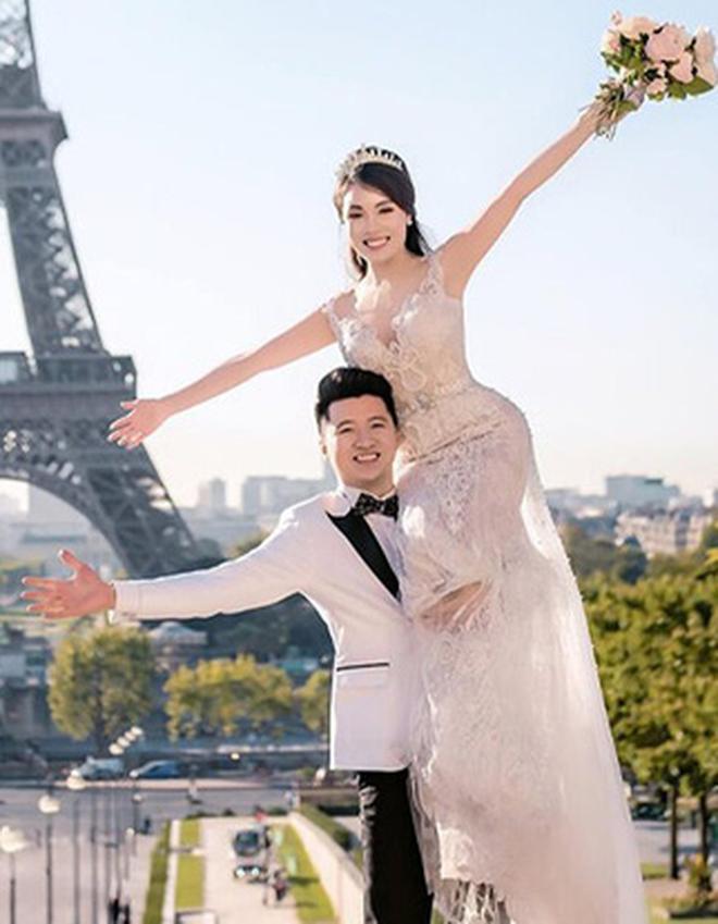 Ảnh cưới của Âu Hà My bất ngờ được chia sẻ rầm rộ vì concept giống nhà... Huỳnh Hiểu Minh - Angela Baby - ảnh 2