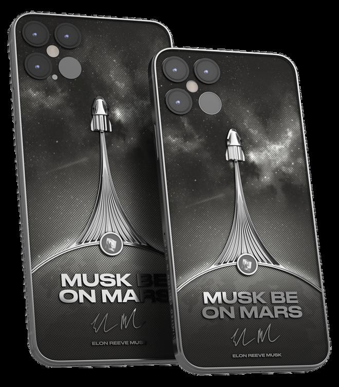 Phiên bản iPhone 12 Pro siêu đẹp dành cho fan của Elon Musk có giá hơn 115 triệu đồng - ảnh 1