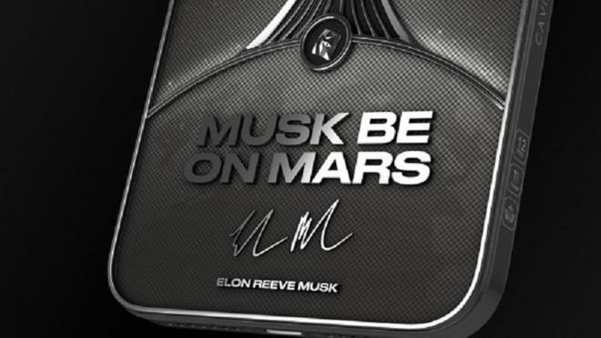 Phiên bản iPhone 12 Pro siêu đẹp dành cho fan của Elon Musk có giá hơn 115 triệu đồng - ảnh 3
