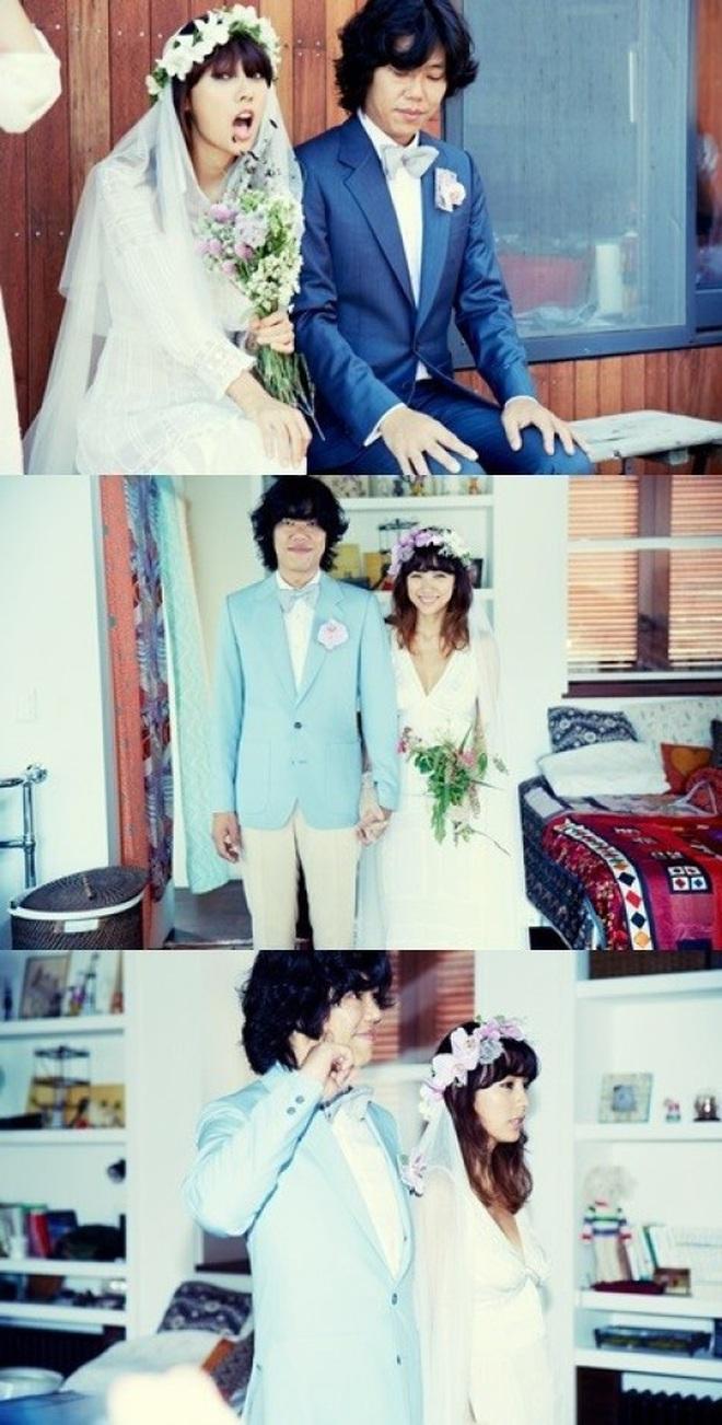 """Đào lại váy cưới của dàn mỹ nhân huyền thoại, dân Hàn mới thấy """"trùm cuối"""" là Kim Ha Neul chứ không phải Han Ga In hay Jeon Ji Hyun - Ảnh 4."""