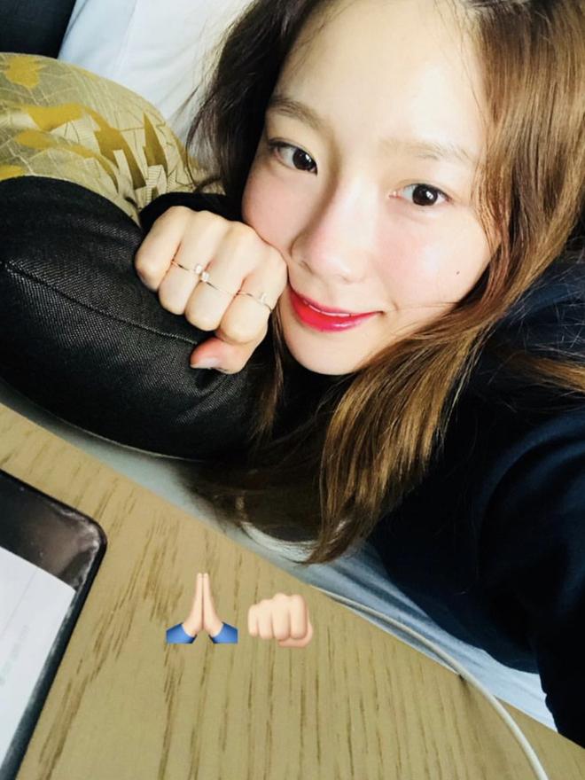 Taeyeon bật mí các bước skincare để da căng mịn như tuổi 18 dù đã ngoài 30, dùng kem chống nắng chưa đến 400k - ảnh 1