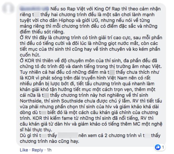 Hai TV Show về Rap quyết lên sóng đối đầu trong một đêm: Rap Việt vượt lên King Of Rap về hiệu ứng lan tỏa! - ảnh 9
